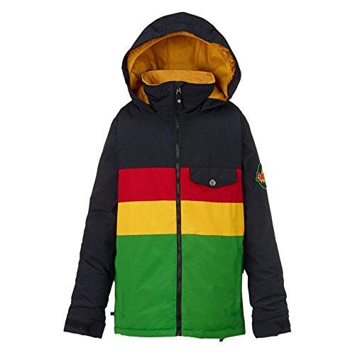 Burton giacca da snowboard da ragazzo simbolo Jacket, Ragazzo, Snowboardjacke SYMBOL JACKET, Rasta, S