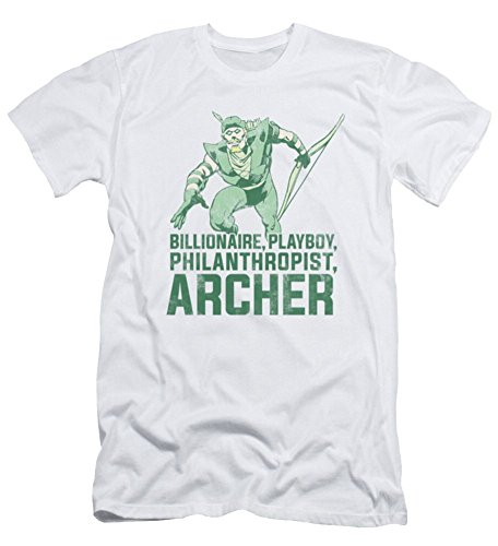 DC Green Arrow Archer Slim Fit T-Shirt