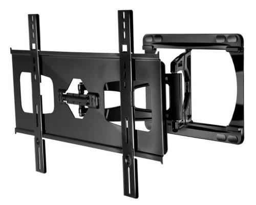 Peerless Sua751Pu Ultra Slim Full-Motion Plus Wall Mount For 37-60-Inch Ultra-Thin Flat Panel Display - Gloss Black