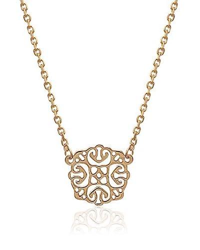 L'ATELIER PARISIEN Collar 92112145A metal bañado en oro 18 ct