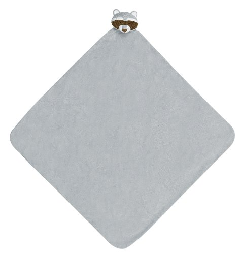 Angel Dear Napping Blanket, Grey Raccoon