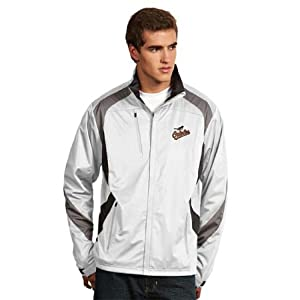 Baltimore Orioles Tempest Jacket (White) by Antigua