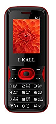 I KALL N3(3G+Wifi Voice Calling) with K12 (Red) Feature Phone
