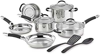 Cuisinart HW86-11C Stainless Steel Set, 11-Piece