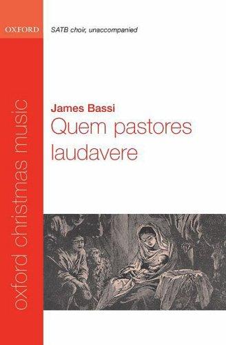 Quem pastores laudavere: Vocal score: SATB and Opt. Organ