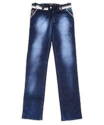 DUC Boy's Denim Dark Blue Jeans (kd09-db-32)