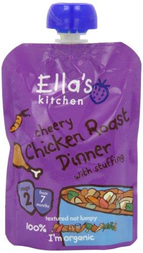 Ella's Kitchen Cheery Chicken Roast Dinner 130 g (Pack of 6)