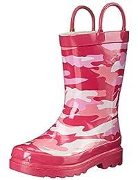 Western Chief Pink Camo Rain Boot (Toddler/Little Kid/Big Kid)