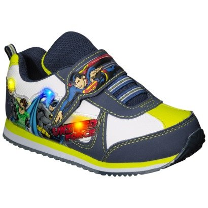 New Justice League Light Up Sneaker, For Toddler Boy'S (8)