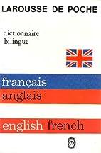 Larousse Francais Anglais / Anglais Francais…