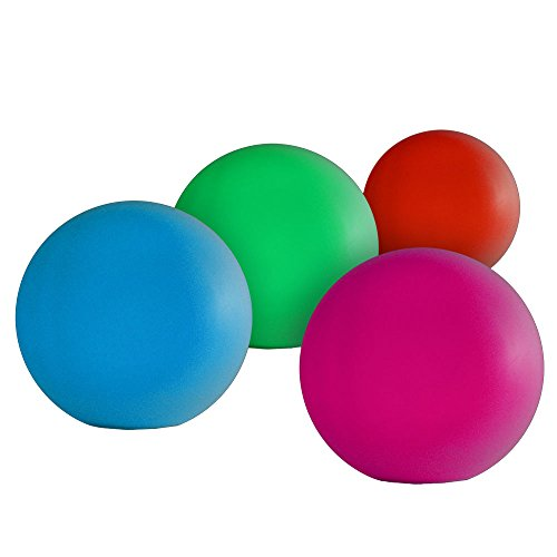 """Fortune Products R-ORB-95-4 Rainbow Orb Multi-Color LED Light, 9.5"""" Diameter (Pack of 4)"""