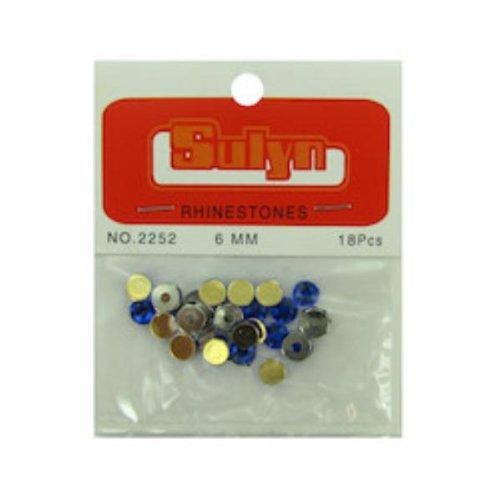 DDI Sapphire Rhinestones Craft Supplies- Case of 44