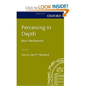 Perceiving in Depth, Volume 1: Basic Mechanisms (Oxford Psychology Series)