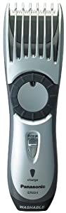 Panasonic ER224S All-in-One Cordless Hair and Beard Trimmer (Silver)