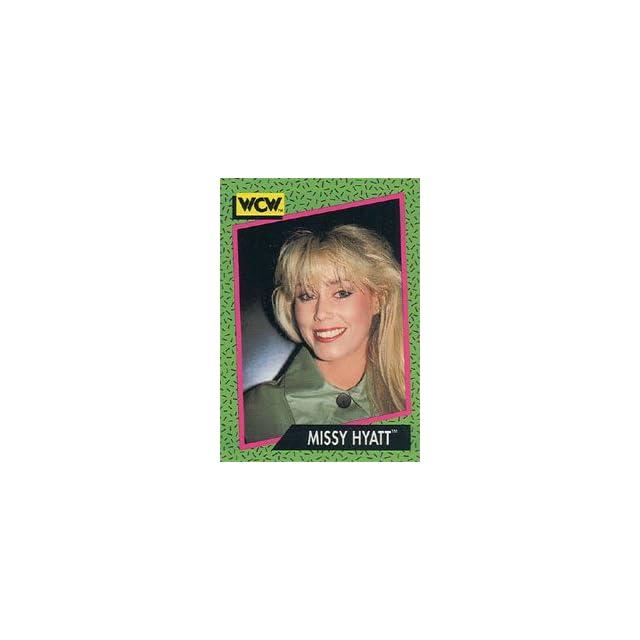 1991 WCW Impel Wrestling Trading Card #159  Missy Hyatt