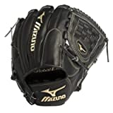Mizuno GGE10VBK Global Elite VOP Baseball Fielder's Mitt (Black, 12.00-Inch)