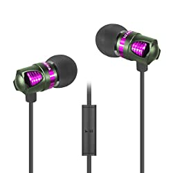 ID America IDH101-GRN ID America Spark In-Ear Headphones - Retail Packaging - Green