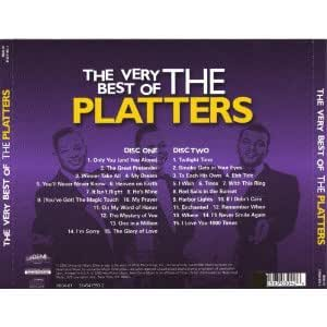 Platters The Very Best Of The Platters 30 Greatest Hits