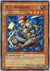Yu-Gi-Oh! - D.D. Warrior (Sdws-En013) - Structure Deck Warriors Strike - 1St Edition - Common