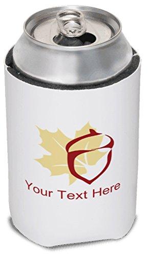 Vistaprint Cream Fall Koozies front-573546