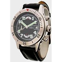 AEROMATIC (エアロマティック) 腕時計 ドイツ製自動巻き 裏蓋スケルトン A1226  メンズ