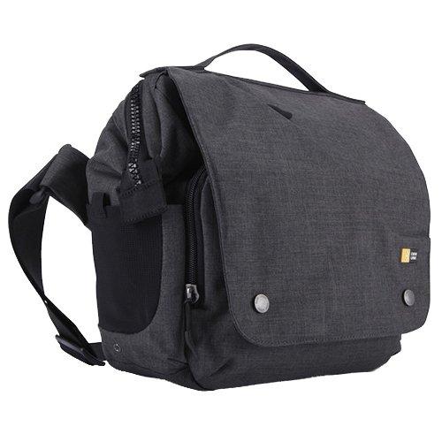 Case logic 普段使いも出来るカジュアルデザインのカメラ用メッセンジャーバッグ iPad収納ポケット付き FLXM-101 ANTHRACITE