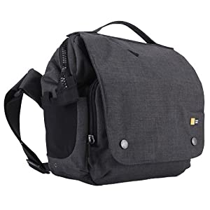 Case Logic FLXM-101 Reflexion DSLR with iPad Small Cross Body Bag (Anthracite)