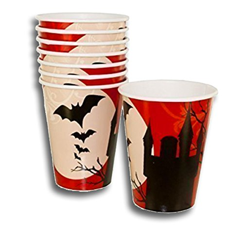 Party Cup Set Solo Cups Iced Coffee Bubble Boba Smoothie Tea Time Tea Party Decorate Your Own Favor Cups (Pack of 48)