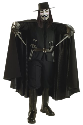 V for Vendetta Grand Heritage Collection Deluxe V Costume