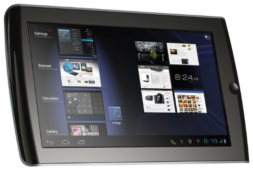 Coby Kyros 7-Inch Android 4.0 4 GB 16:9 Capacitive Multi-Touchscreen Widescreen Internet Tablet , Black MID7035-4