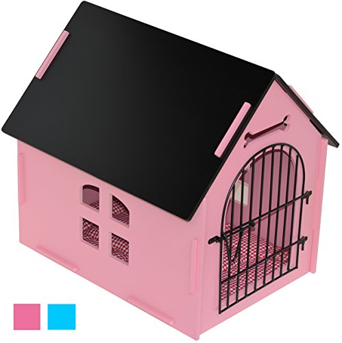 ROYAL CRAFT WOOD Dog House Crate Indoor Kennel for Small Dogs, Pet Home with Door