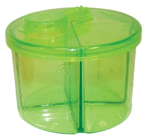 Sassy On The Go Formula Dispenser, Green front-969428