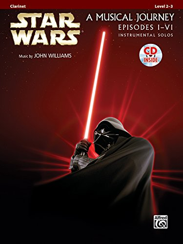 Star Wars Instrumental Solos (Movies I-VI): Clarinet (Book & CD)