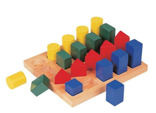 Guidecraft Colored GEO Forms Furniture - 1