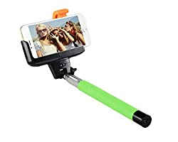 i.mee Selfie Stand/Stick with Bluetooth Shutter BLUE