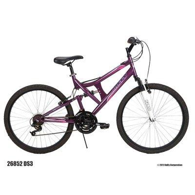 Huffy Women's DS-3 Bike (Purple Heart Metallic, Large/26-Inch)