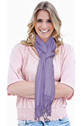 Women's Silky Soft Pashmina Scarf Wrap Bright Colors