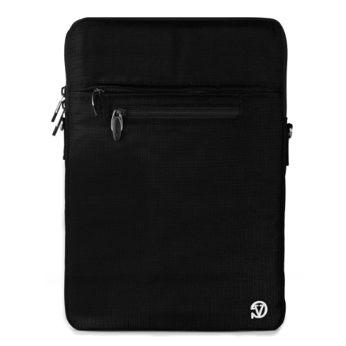 Vile VG Hydei Nylon Laptop Carrying Bag Case w/ Reject Strap for HP ENVY x2 11t-g000 12-inch Notebook PC