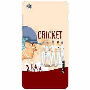 Lenovo S850 Back Cover - Silicon Cricket Fever Designer Cases