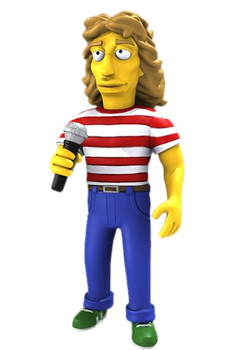 "NECA Simpsons 25th Anniversary - Roger Daltrey 5"" Action Figure Series 2 - 1"