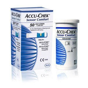 Accu-Chek Advantage/ Sensor Comfort Test Strips Size:50 Strips