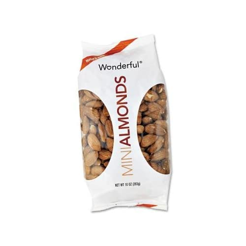 Paramount Farms Wonderful Almonds, Dry Roasted & Salted, 10 oz, 16 per