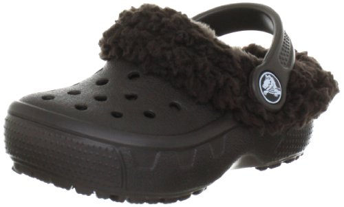 Crocs Mammoth Core Full Collar Kids Clogs and mules Unisex-Child Brown Braun (Espresso/Espresso 22Z) Size: 25/26
