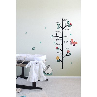 Wee Gallery Wall Graphics, Growing Like a Weed Growth Chart (Discontinued by Manufacturer)