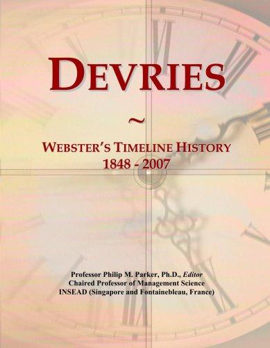 devries-websters-timeline-history-1848-2007