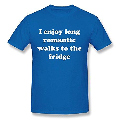 Design Enjoy Long Romantic Walks Men'S Crazy Ultra Cotton T-Shirt front-514248