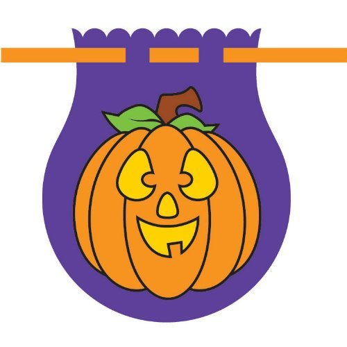 Pumpkin Drawstring Cello Bags (10 per package)