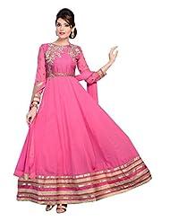Zohraa Pink Faux Georgette Anarkali Suit - Z1723P503-16