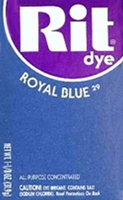 Rit Dye 32 g Royal Blue Powder (6-Pack)