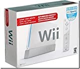 Nintendo Wii Console Black w/ Wii Sports Resort - Official Nintendo Refurbished Product